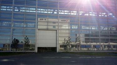 打造一座高大上的现代工业建筑代表 之三一西北重工工业提升门案例