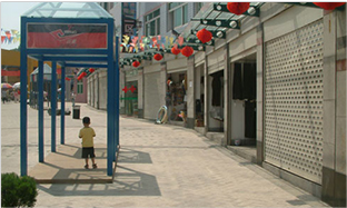 株洲步行街商铺卷帘门