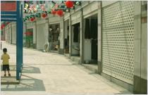 株洲步行街卷帘门