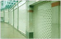 浏阳步行街商业卷帘门