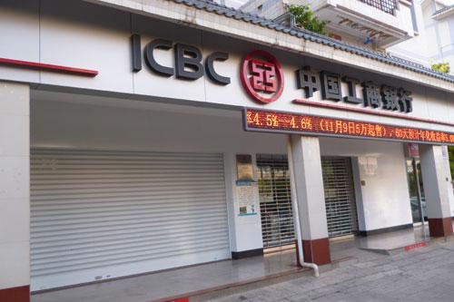 银行防盗门系统